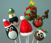 Christmas popcakes